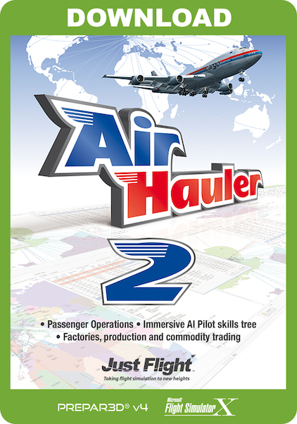 Air Hauler 2 (Download version) (Just Flight J3F000253-D)
