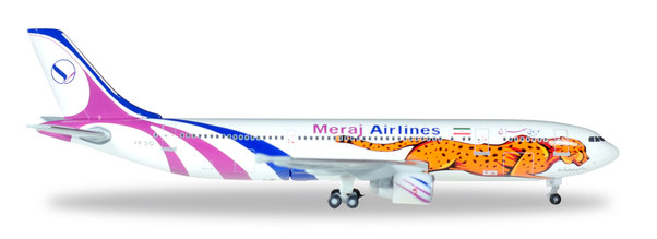 A300-600 (Meraj Airlines) EP-SIG Limited Herpa Clubediton  529778