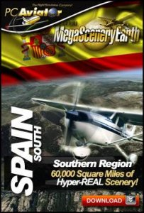 Mega Scenery Earth: Spain South V2 (Download version)  DL-MSE-ESSTH