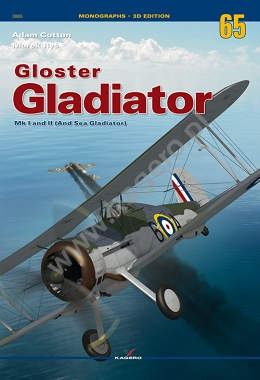 Gloster Gladiator Mk I and II (And Sea Gladiator)  9788365437860