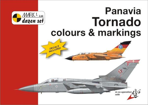 Panavia Tornado  Colours & Markings + decals  9788086637341