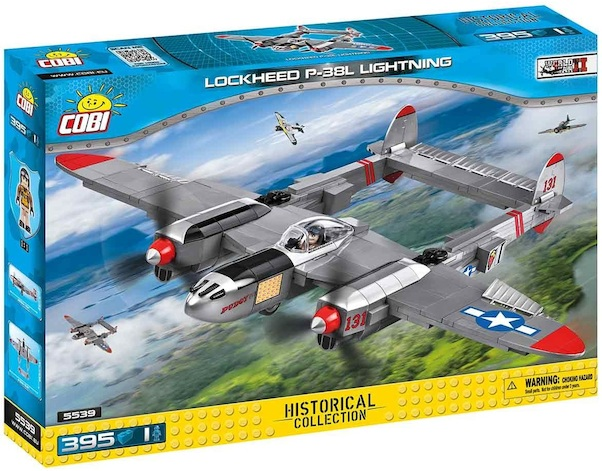 Lockheed P-38 Lightning (395 pieces)  5539