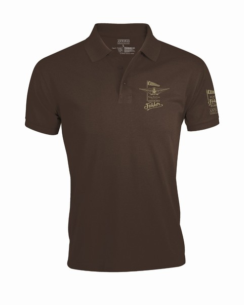 Polo-Shirt with Anthony Fokker tribute: Rise of Aviation 1912-1996  ANT-FOK-MAIN