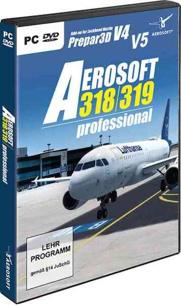 Aerosoft A318/A319 professional (download version) Now inluding Paint kit   (Aerosoft AS14207)