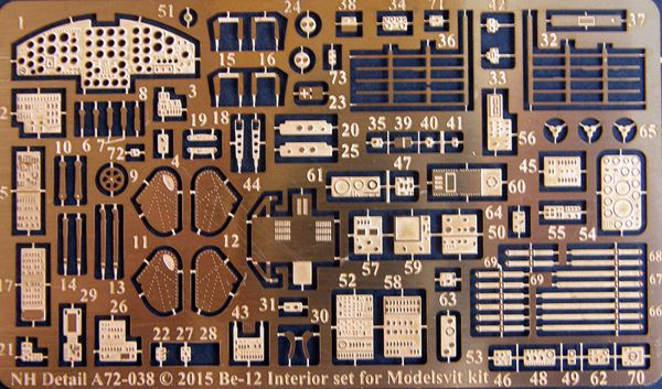 Beriev Be12 Interior Detail set (Modelsvit)  A72-038