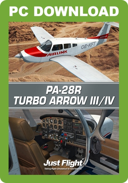 Piper PA-28R Turbo Arrow III/ IV (download version)  J3F000220-D