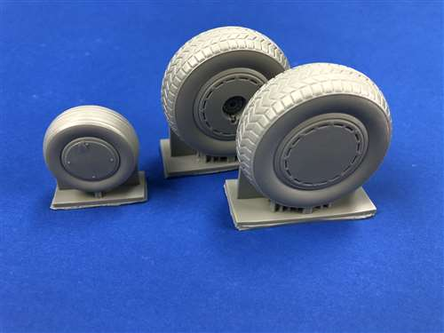 B24 Liberator Wheels with Dust Cover Wheel set  TDP32217