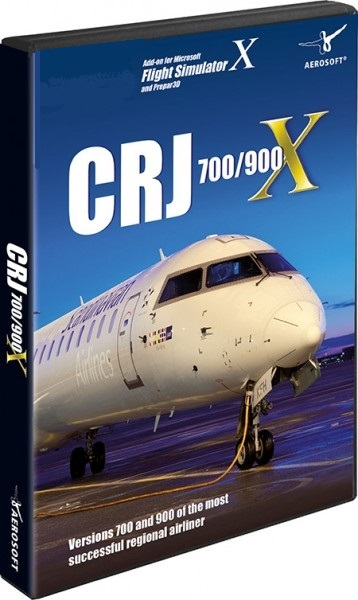 CRJ 700/900 X (Download Version)  AS10195-D