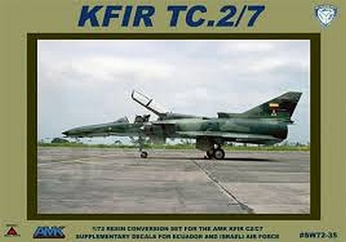 Kfir TC.2/7 Conversion (AMK)  sw72-35