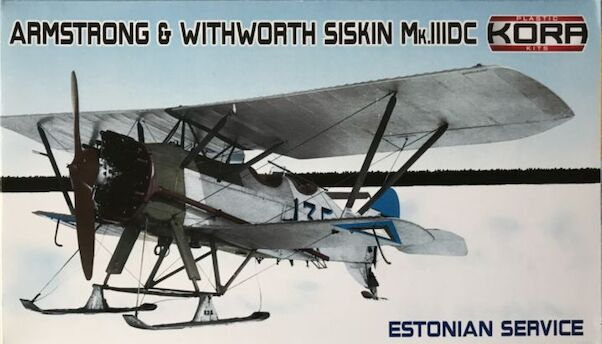 Armstrong Withworth Siskin Mk.IIIDC Estonian service  KPK72114