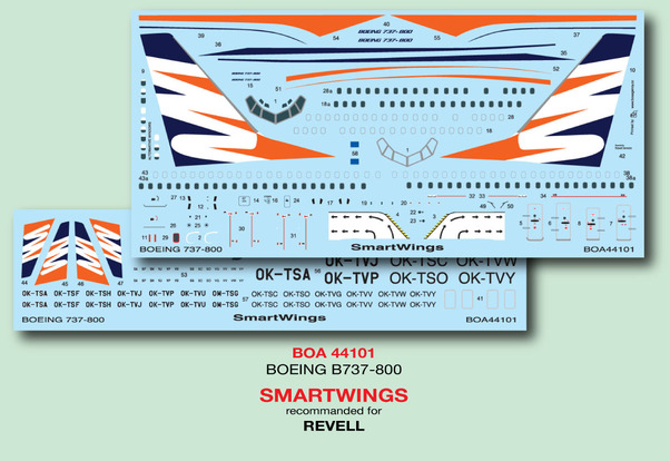 Boeing 737-800 (SmartWings) (Revell)  boa144101