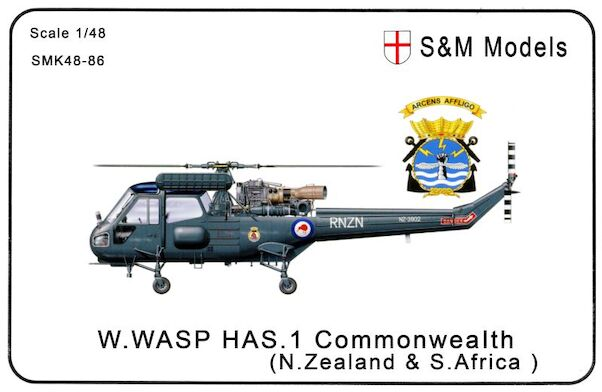 Westland Wasp HAS-1 (Commonwealth New Zealand and South Africa) (Expected November 2020)  SMK48-86