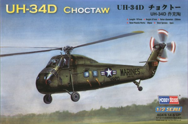 Sikorsky UH34D Chocktaw (US Marines)  87222