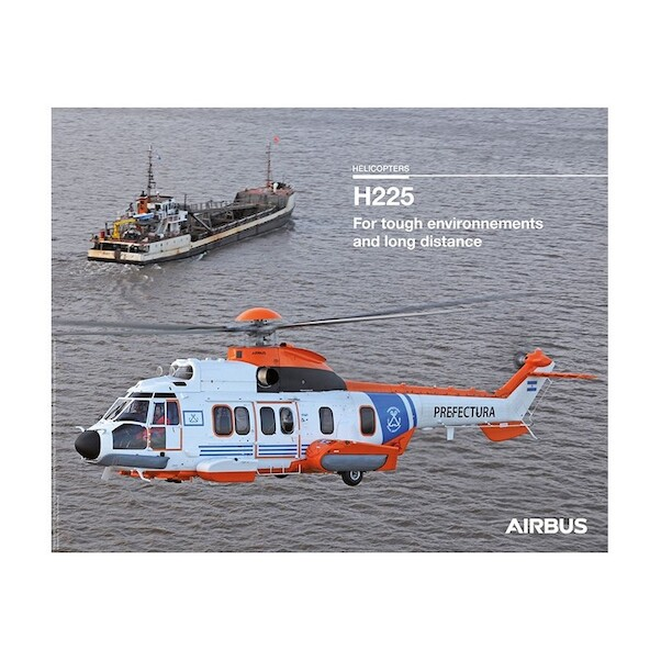 Airbus H225M helicopter poster (Prefectura Argentina)  H225M
