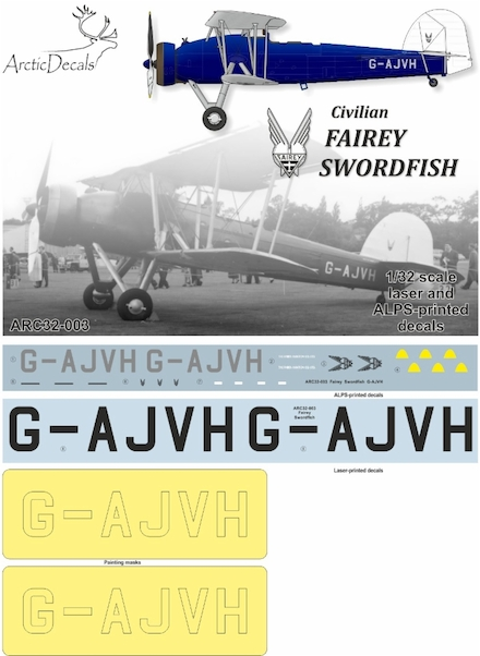 Civilian Fairey Swordfish (G-AJVH)  ARC32-003