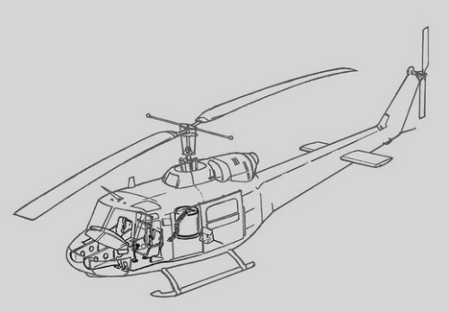 Bell uh1b huey interior set italeri for Internet providers 44107