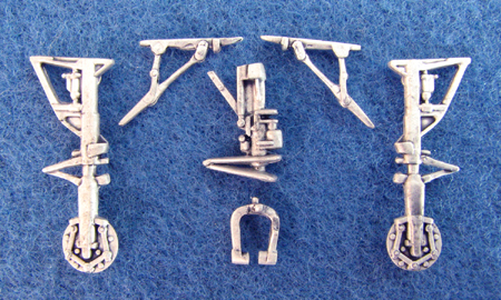 Northrop F5F Tiger II Landing Gear (replacement for 1/48 Revell/Monogram)  sac48112