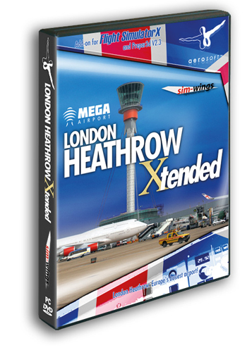 Mega Airport London-Heathrow Extended (download version) (Aerosoft  4015918119825-D)