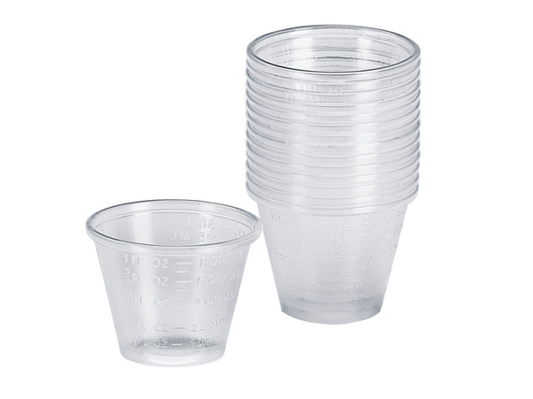 Mixing cups (15 pieces)  39065