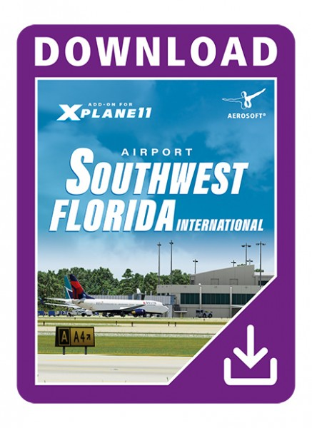 Southwest Florida International Airport (Download Version for Xplane10)  (Aerosoft 13655-D)