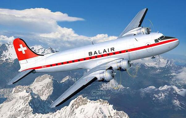 Douglas DC4 (Balair/ Iceland Airlines) (SPECIAL OFFER - WAS EURO 49,95)  04947