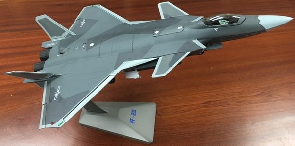 J-20 Stealth Fighter Jet Chinese Air Force (Air Force 1 AF1-0159)