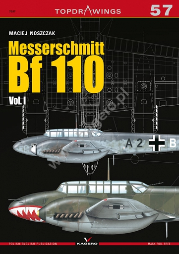 Messerschmitt Bf110 Vol. I  9788365437990