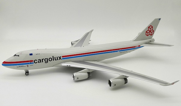 B747-400F (Cargolux) LX-PCV With Stand LIMITED 84 MODELS  IF744CV1118