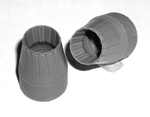 F15 P&W engine nozzles with turkey feathers  CEC48331