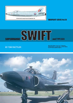 Supermarine Swift and type 535  WS-58