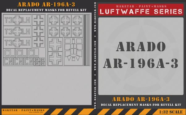 Luftwaffe Arado AR196A-3 Masks  MM32046