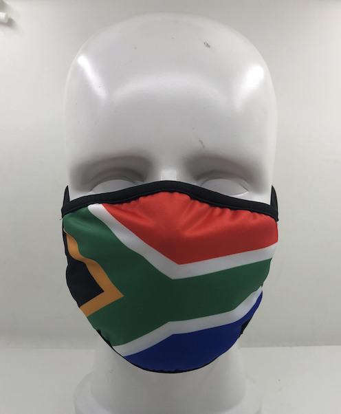 Face Mask Proud to be South African (Republic of South Africa flag)  MASK-SA