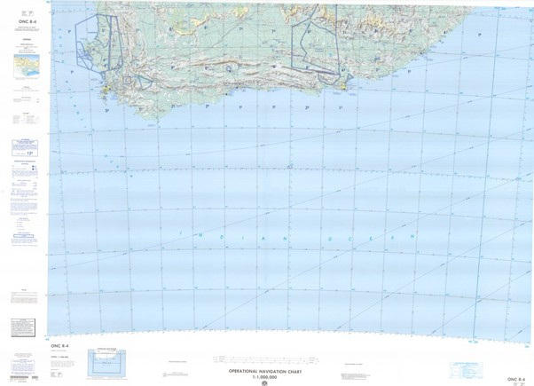 ONC R-4: Available: Operational Navigation Chart for Republic of South Africa. Available ! additional charts available within five working days. E-mail your requirements.  ONC R-4