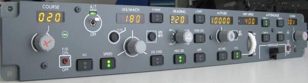 B737 MCP EL (CP Flight MCP737EL)