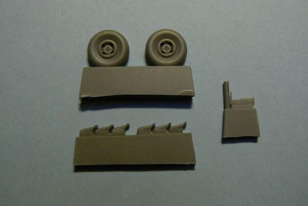 Fairey Fulmar MKII Wheels and exhausts (Vista, Smer, Revell)  RART7302