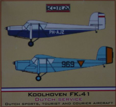 Koolhoven FK41(Dutch service)  72172