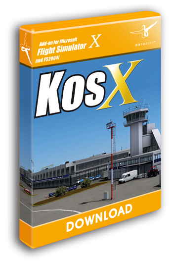 Kos X (Download version for FSX)  11181-D