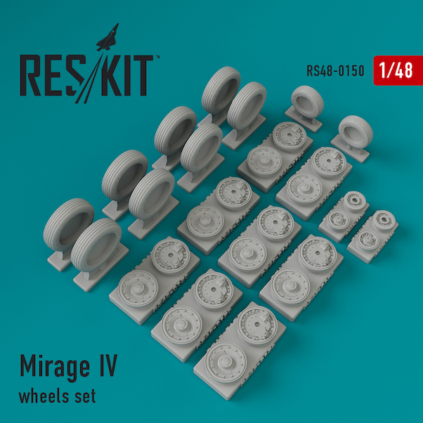 Mirage IV Wheel set  RS48-0150