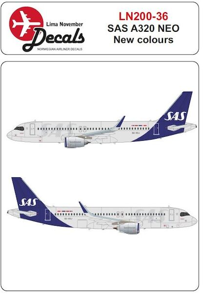 Airbus A320 NEO (SAS New colours)  LN200-036