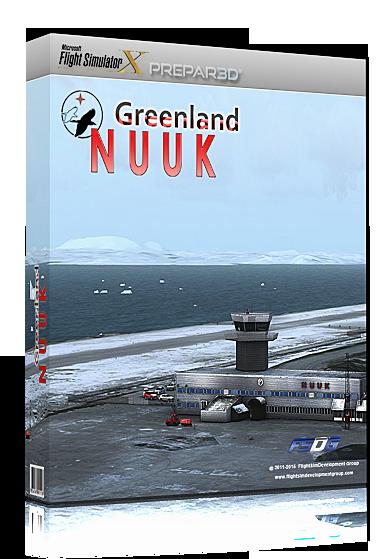 FSDG - Greenland Nuuk X (download version) (Aerosoft 13569-D)