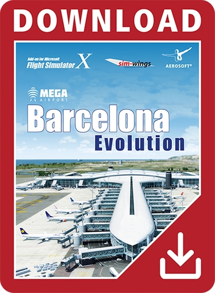 Mega Airport Barcelona Evolution (Download version)  14211-D
