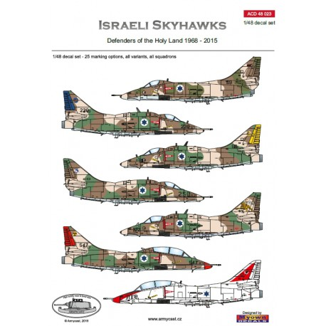 Israeli Skyhawks , Defenders of the Holy Land 1968-2015  ACD48023