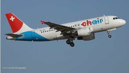 Airbus A319 Chair Airlines  612685
