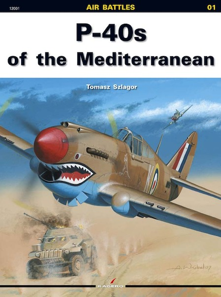P40's over the Mediterranean  9788360445495