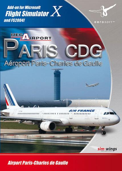 Mega airport Paris CDG (download version FS2004, FSX) (Aerosoft  4015918102339-D)