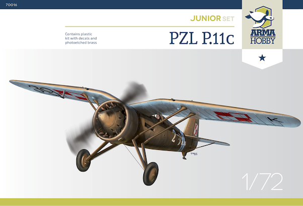PZL P.11C Junior Set  70016