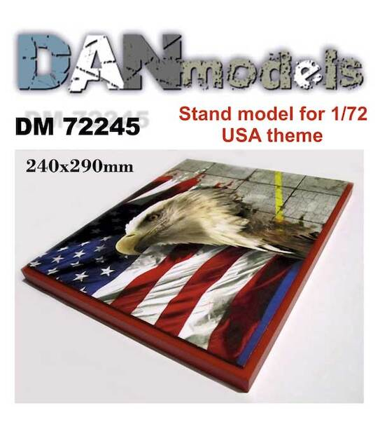 Stand model USA Theme 240mm x 290mm  DM72245