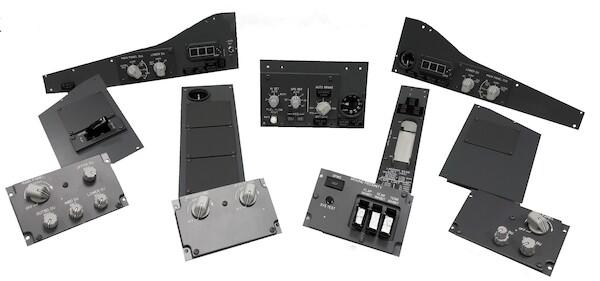 B737 ICS MIP panels complete (CP Flight MIP737ICS_FULL)