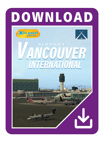 CYVR-Vancouver International Airport XP (X-Plane 11)  AS15024-D