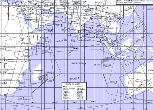High and Low Altitude Enroute Chart Middle East ME(H/L)13/14  ME(H/L)13/14